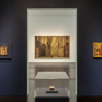 Menil Collection: Byzantine gallery