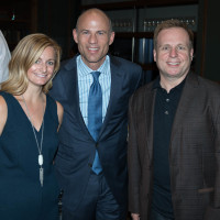 Texas Tribune Festival 2018 VIP Party at Google Lauren Lambert Michael Avenatti Rob Biederman