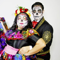 Calavera con Calavera Theater Play