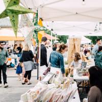 Outdoor Market at Art Walk West