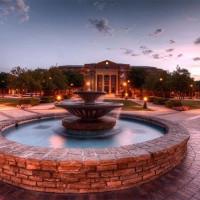 Southlake Town Square fountain
