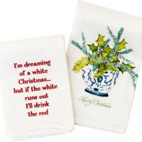 Renovate holiday tea towels
