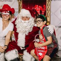 CultureMap Holiday Shopping Pop-Up 2018 Santa