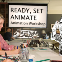 Hand-Drawn Animation Workshop with Gonzo Viz