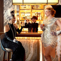 1920's speakeasy bar