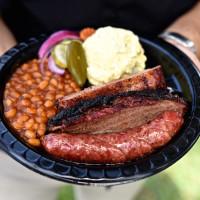 Killen's barbecue three meat plate
