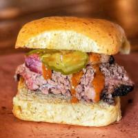 Pinkerton's BBQ sandwich