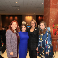 Brenda Ewing Snitzer, Jill Tiernan, Matrice Ellis-Kirk and Lindsay Billingsley