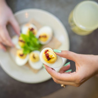 The Esquire Tavern deviled eggs
