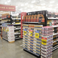 H-E-B Heights wine and beer