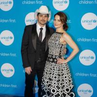 Brad Paisley, Kimberly Williams-Paisley, UNICEF gala
