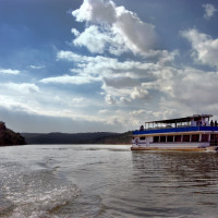 Vanishing Texas River Cruises boat Lake Buchanan