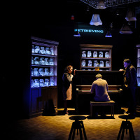 Shannon McGrann, Drew Wall and Thomas Ward in Incognito at Second Thought Theatre