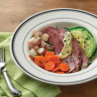 Mimi's corned beef & cabbage