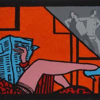 "Derek Boshier: ""Paintings, Drawings, and Film: Selected Works 2004 - 2019"" opening reception"