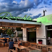 Rumble San Antonio patio