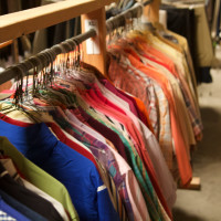 men's shirts, closet, One Man's Treasure