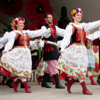 Dance Group Wawel at Houston Polish Festival