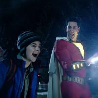 Jack Dylan Grazer and Zachary Levin in Shazam!