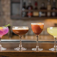The Roastery Briargrove cocktails