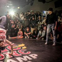 Breakdance competition Red Bull BC One Camp