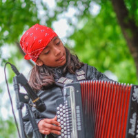 Events such as Paseo por El Westside teach children the power of preservation through traditional music.