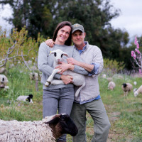 Molly and John Chester in The Biggest Little Farm