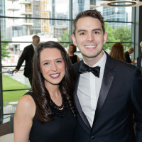 Lisa Swaim and Daniel James