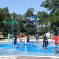 Dallas spraygrounds water feature