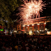 CityCentre Houston fireworks