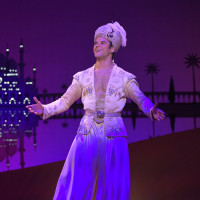 Clinton Greenspan in Aladdin national tour