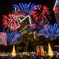 Uptown Houston Holiday Lighting