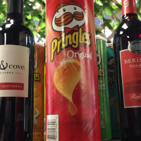 Pringles and Wine Tasting