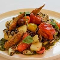 Fearing's veggie menu