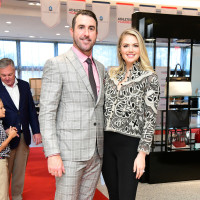Houston Astros Team Up 4 Kids and K9s 2019 Justin Verlander and Kate Upton