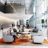 Total Plaza lobby