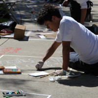 13th Annual I Madonnari High School Sidewalk Art Contest
