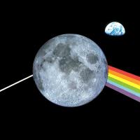 <i>Earthrise & Dark Side of the Moon</i>