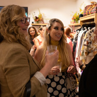 MOSS opening Maya Farret with Lee Lee Owner