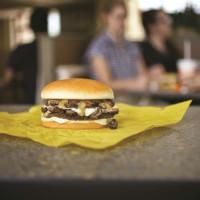Whataburger mushroom burger