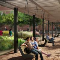 West End Square park