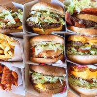 Fatburger overhead shot