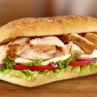 Subway Chicken Pesto Ciabatta Sub