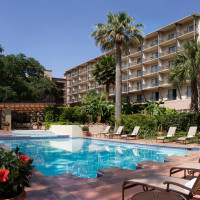 Marriott Plaza Hotel San Antonio River Walk Pools