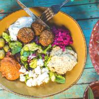 Punch Bowl Social Med salad