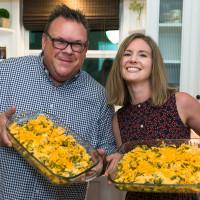 Chris Shepherd cookbook party Ashley Horne