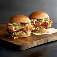 Drive-thru gourmet - Buffalo Wild Wings chicken sandwich
