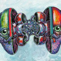 Ro2 Art Gallery presents TJ Griffin: Mind Island