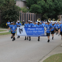 Plano West Marching Band
