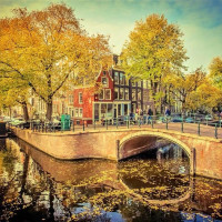 Amsterdam downtown